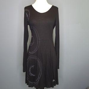 Suze Small Desigual Dress Black Viscose RN129068